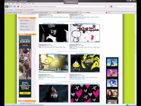 How to put background on your Imvu Homepage