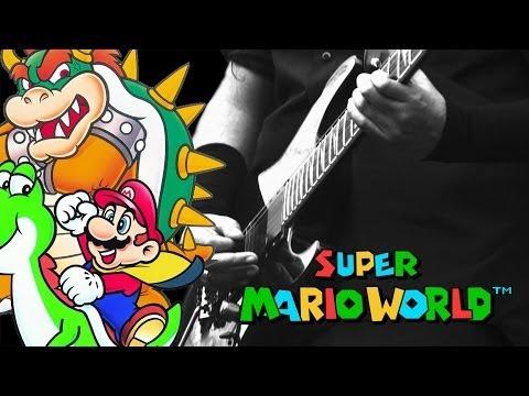 Super Mario World - Castle Theme (Guitar cover)