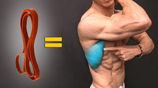 Build a Big Back with Bands (NO WEIGHTS!)