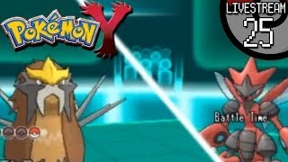 Pokemon X And Y Livestream #25: Entei Saves The Day
