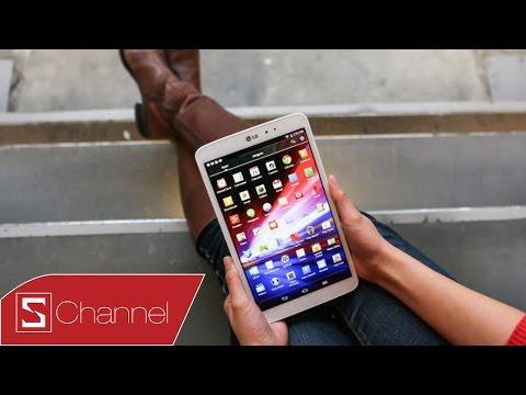 Mở hộp LG G Pad 7.0: Tablet giá rẻ của LG