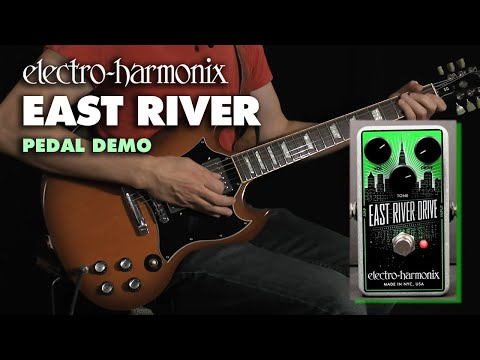 Electro Harmonix East River Drive Overdrive Effects Pedal for Guitar