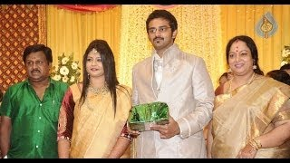 Tamil Celebrities at Ramarajan and Nalini's Son Arun Wedding Reception | Vaiyapuri, Delhi Ganesh