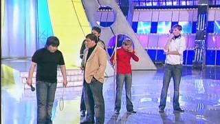 КВН Лучшее: КВН Высшая лига (2007) 1/4 - Астана.kz - Приветствие