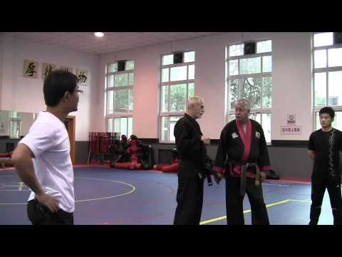 Hapkido Police training at Beijing Sports Universtiy 1 of 18