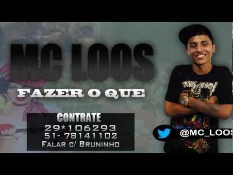 Mc Loos - Fazer o que ♪ ( STUDIO JK =OBRABO= ) @MCBIDIOFICIAL