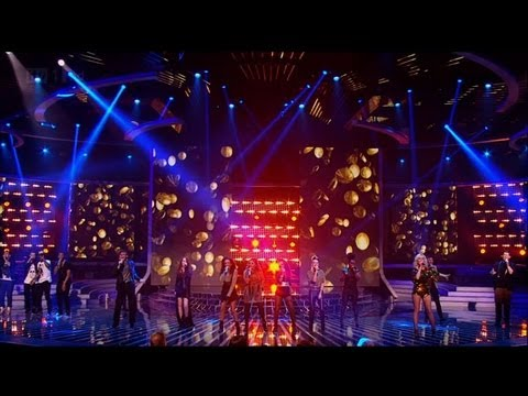 Ch-ching! Finalists smash Jessie J hit - The X Factor 2011 Live Results Show 5 (Full Version)