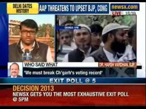 Delhi elections 2013 : Record voter turnout in Delhi, 66% voting registered - NewsX