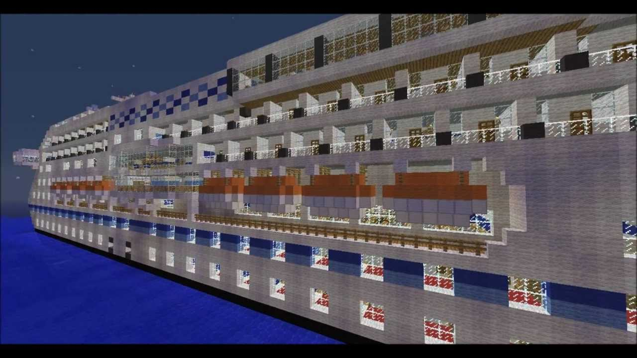 how to build a ship in minecraft
