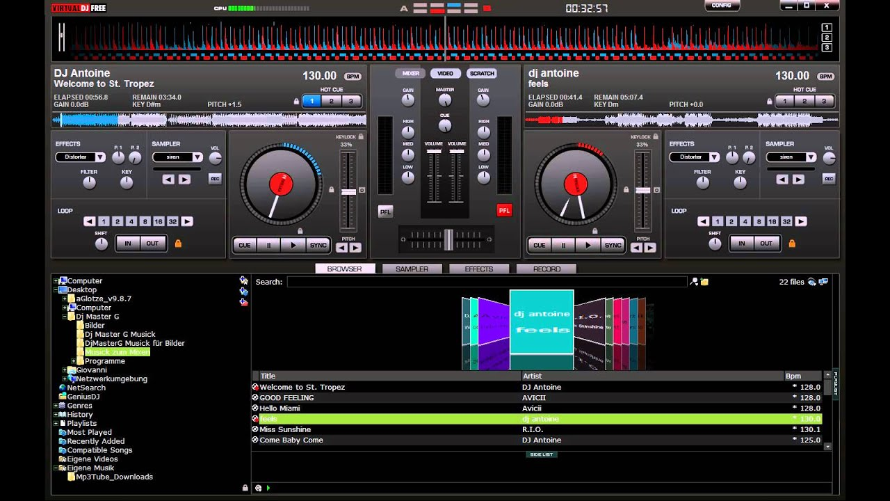 Virtual dj home free serial number for Virtual home software