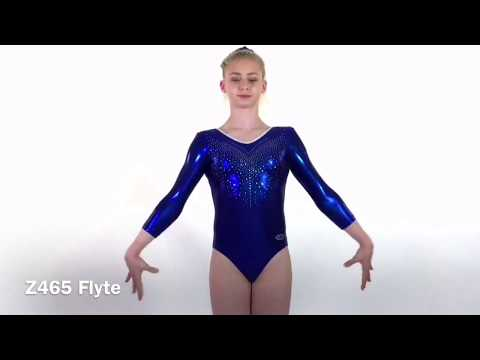 Justaucorps gymnastique Flyte manches longues