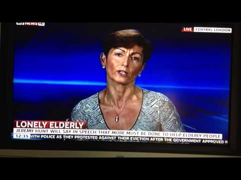 myageingparent talk about elderly loneliness on Sky News
