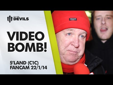 Video Bomb! | Manchester United 2-1 Sunderland (3-3 Agg) Capital One Cup | FANCAM