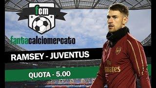 FANTACALCIOMERCATO: la scelta di Morata e Barella Ramsey-Juve. Sfidaci!
