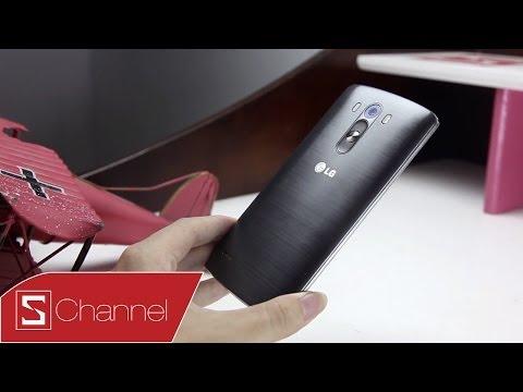 Mở hộp LG G3 phiên bản màu xám Titan