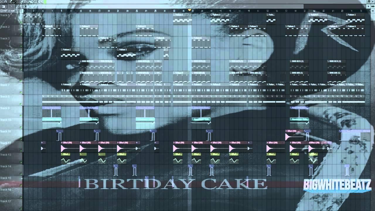 Rihanna Birthday Cake Instrumental Download