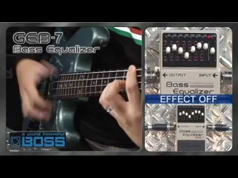 Boss GEB7 Bass 7 Band Graphic EQ Stompbox
