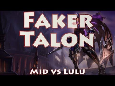 SKT T1 Faker, Talon Mid vs Lulu