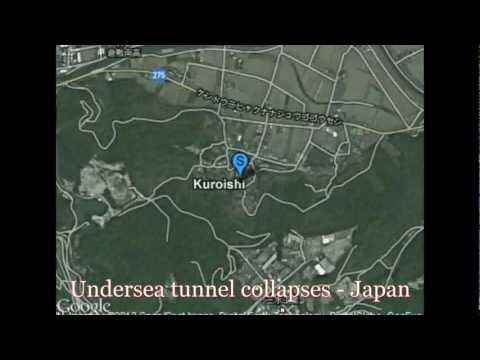Japan: Undersea Oil Refinery Tunnel Collapses Trapping Workers