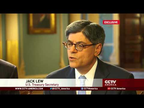 CCTV Exclusive: U.S Treasury Secretary Jack Lew on U.S. economy