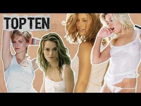 Top10 WET T-SHIRT Movie Moments