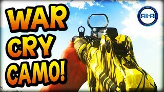 "Call of Duty: Ghost ""WAR CRY"" Camo DLC! - New War Cry Personalization Pack! - (COD Ghosts)"