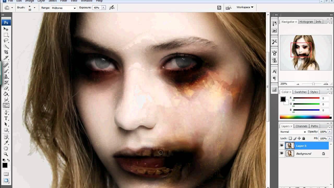 Halloween Photo Editor | Zombify Yourself | PicMonkey