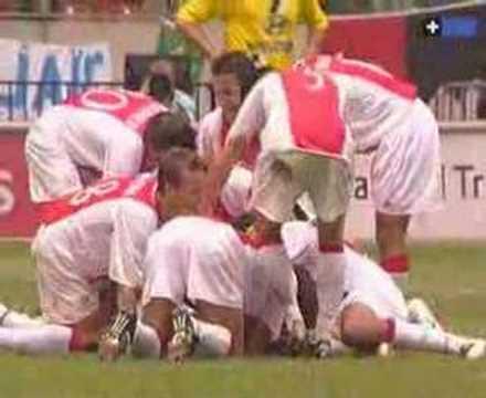Zlatan Ibrahimovic historic goal for Ajax