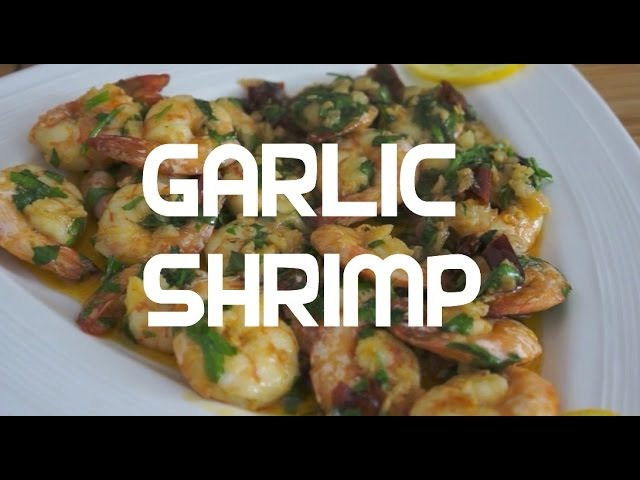 Garlic Shrimp Pinoy Cooking Tagalog Filipino recipe - Tagalog English