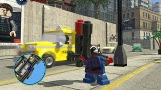 LEGO Marvel Super Heroes Unlocking Rocket Raccoon (All 3