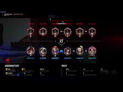Overwatch tracer gameplay(2)