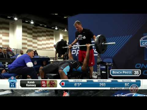 2014 Boston College at the NFL Combine