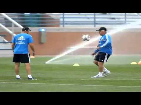 Zidane y Ancelotti, con clase