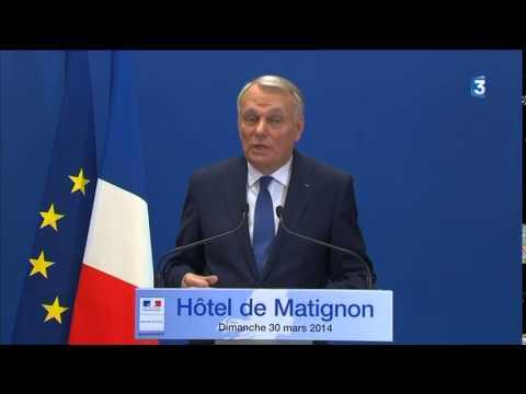 Municipales 2014 : la déclaration de Jean-Marc Ayrault