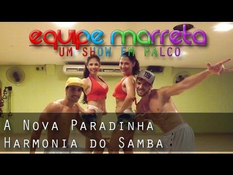 A Nova Paradinha - Harmonia do Samba | Coreografia Professor Jefin