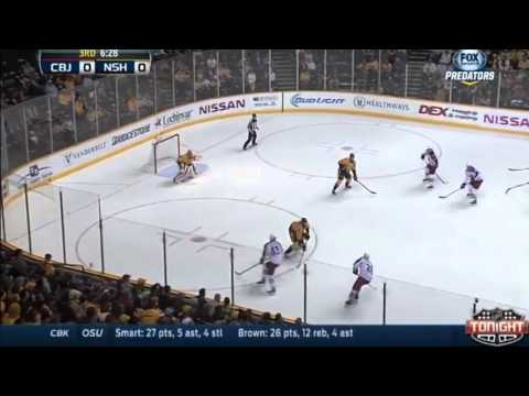 Artem Anisimov Goal : Columbus Blue Jackets : March 7 2014