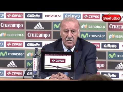 Convocatoria y conferencia de prensa de Vicente del Bosque