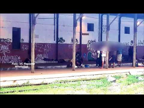 Antiga Estação Ferroviária de Marília se transforma em cracolândia