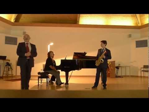 Family Sherling on XVI World Saxophone Congress in Scotland