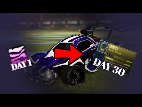 HOW YOU MAKE A LOT OF PROFIT IN 1 DAY!! (Rocket League Trading Tips)