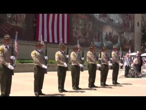 Musical Salute to Service Veterans- Theme Songs & 21-Gun Salute- Memorial Day L.A.