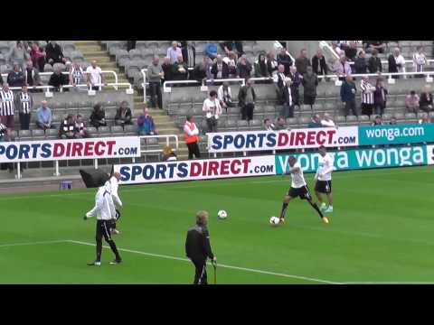 Loic Remy Goal In Training Before Hull City Match 21.09.2013