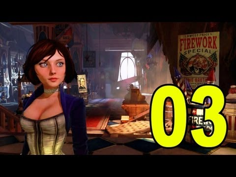 Bioshock Infinite - Part 3 - Brutal Melee Machine (Let's Play / Playthrough / Walkthrough)