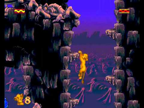 Lion King, The - Level 3: The Elephant Graveyard - User video