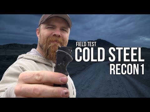 Cold Steel Mini Recon 1: Field Test