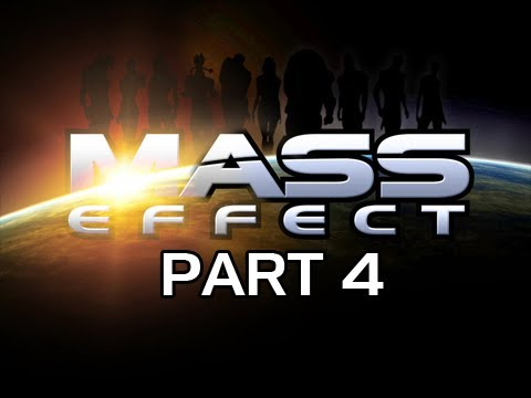Mass Effect Gameplay Walkthrough - Part 4 Wrex and Save the Doctor Let's Play