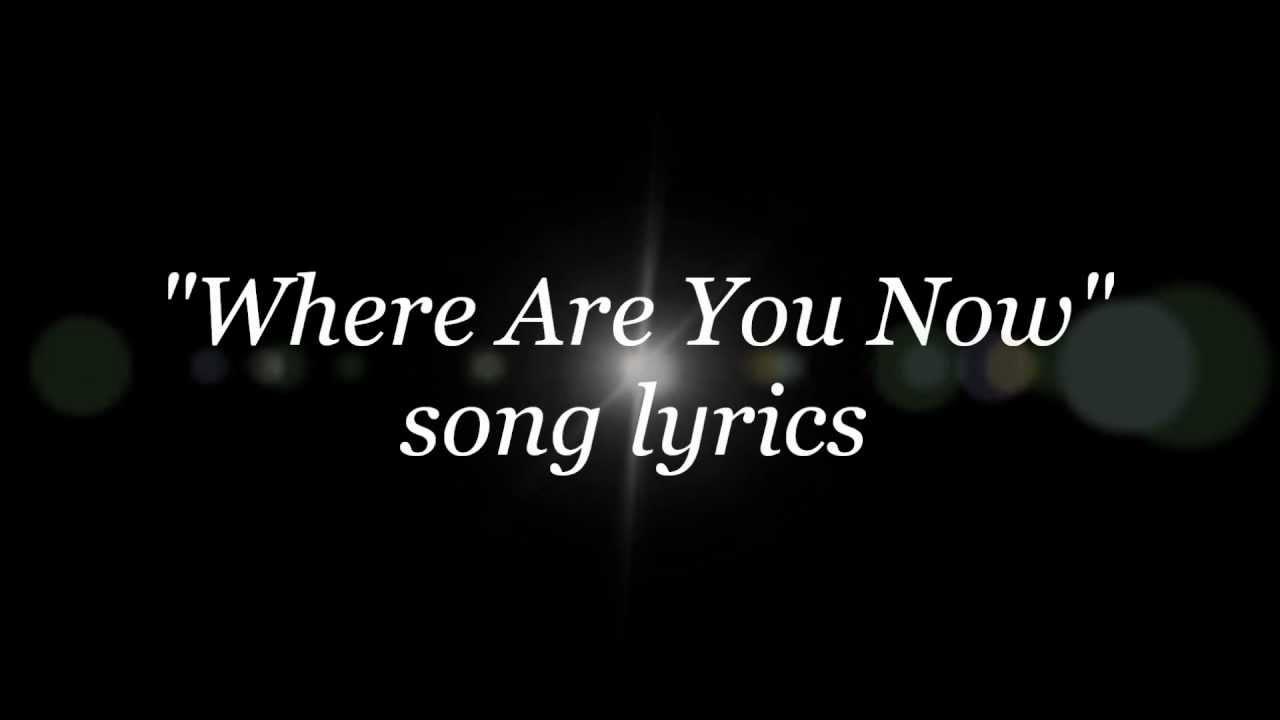 Nazareth - Where Are You Now lyrics - YouTube