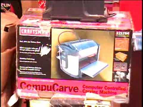 compucarve computer controlled compact woodworking machine