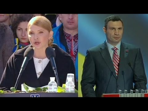 Tymoshenko and Poroshenko plan to run for Ukrainian presidency