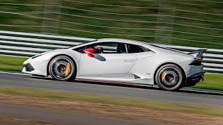 Lamborghini Huracan 610-4 Hot Lap @ Moscow Raceway. Видео Тесты Драйв Ру.